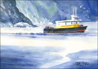 Alaska Tugboat Original Painting