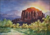 Arriving at Sedona Original Painting