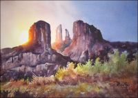 Cathedral Rock Print