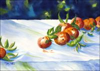 Tangerines Original painting