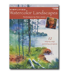Simplified Watercolor Landscapes Book